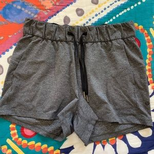 Gray Lulu Shorts